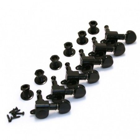 Grover Mini Rotomatic 6 Inline - Set cheite acordare chitara Grover - 1