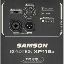 Samson XP115A Expedition - Boxa autoamplificata 250W Samson - 4
