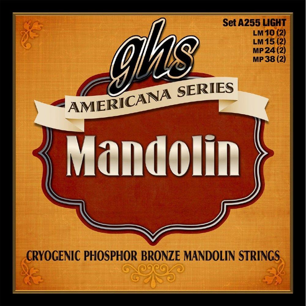 GHS A255 Americana - Set Corzi Mandolina GHS - 1