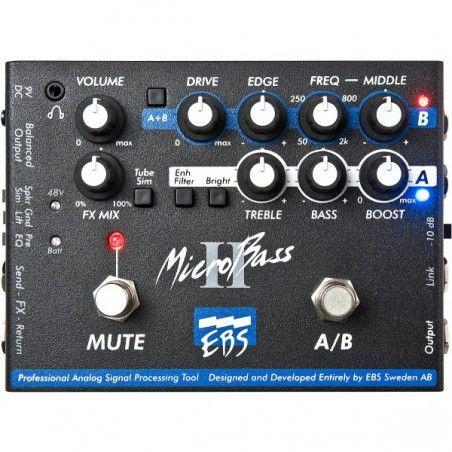 EBS MicroBass II - Preamp DI chitara bas EBS - 1