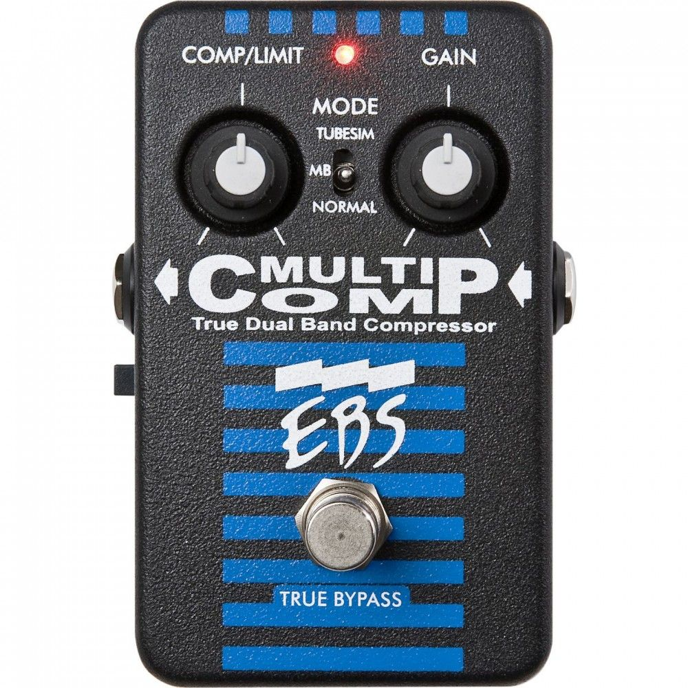 EBS MultiComp Studio Edition - Pedala compression EBS - 1