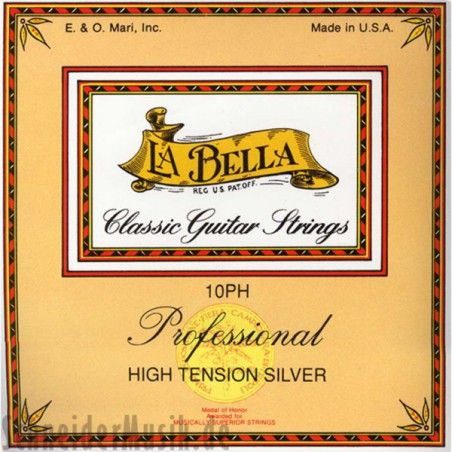 La Bella 10PH High Tension Silver - Set Corzi Chitara Clasica La Bella - 1