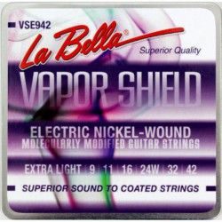 La Bella VSE942 Vapor Shield - Set Corzi Chitara Electrica 09-42
