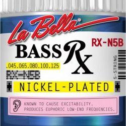 La Bella RX-N5B - Set 5 Corzi Chitara Bass 45-125 La Bella - 1