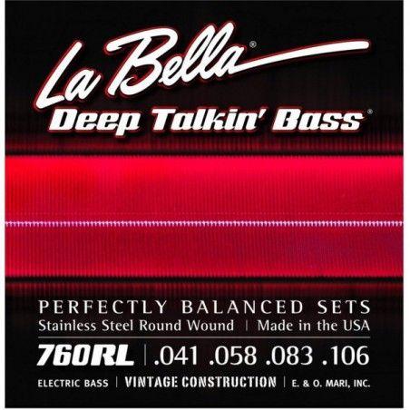 La Bella 760RL - Set Corzi Chitara Bass 41-106 La Bella - 1