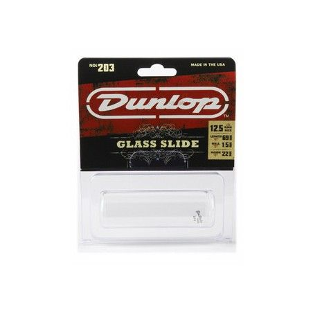 Dunlop 203SI Glass Reg - Slide
