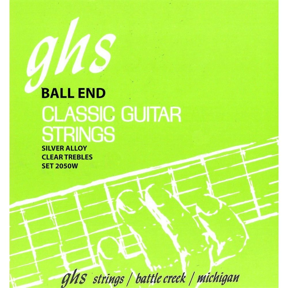 GHS 2050W BallEnd High Tension - Set Corzi Chitara Clasica GHS - 1