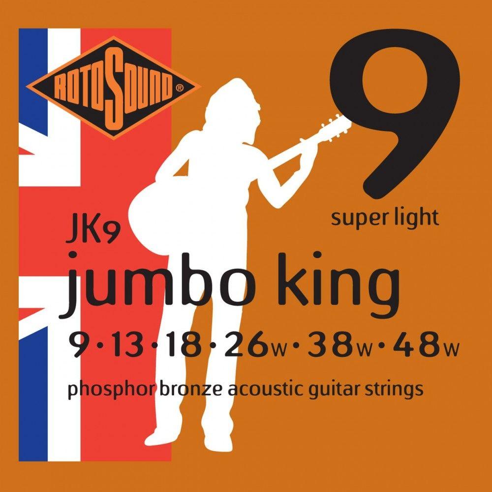 Rotosound Jumbo King JK9 - Corzi Chitara Acustica 09-48 Rotosound - 1