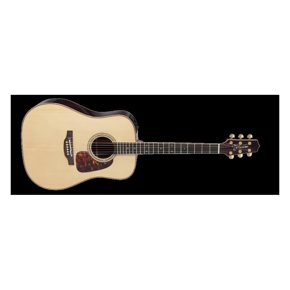 Takamine P7D Pro Series - Chitara electro-acustica cu case Takamine - 1