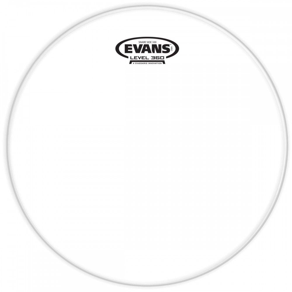 """Evans 300 Snare Side 10"""" - Fata toba Evans - 1"""
