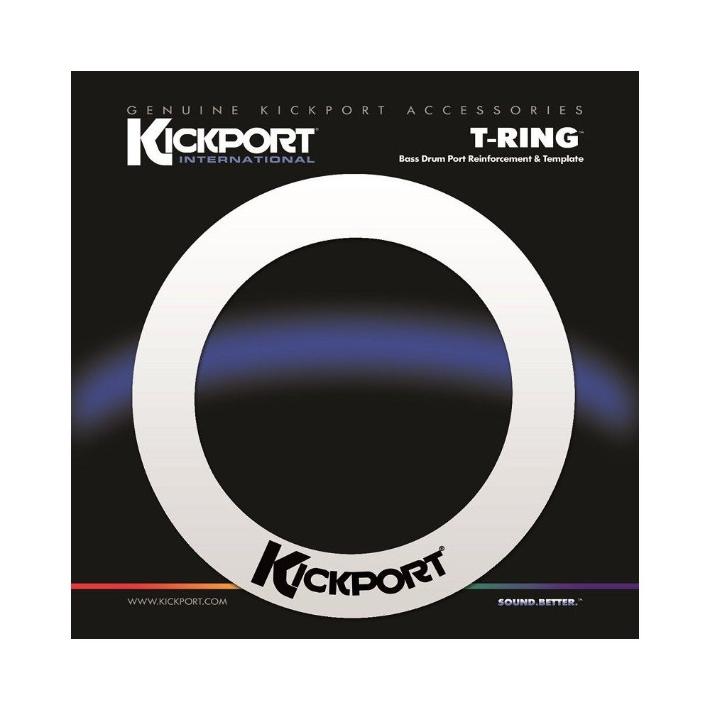 KickPort T-Ring - White -...