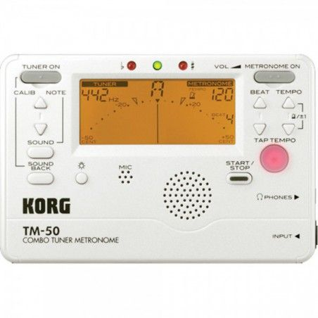 Korg TM-50 PW- Acordor metronom Korg - 1