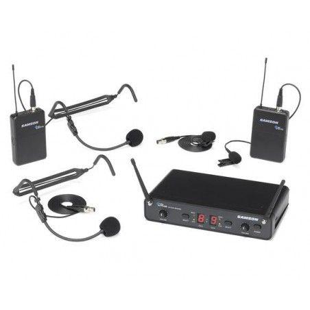 Samson CR288 Presentation - Sistem Wireless cu Microfon Samson - 1