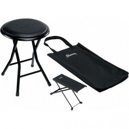 Ibanez ICC50FFR - Pachet scaun cu suport pentru picior si husa Ibanez - 1