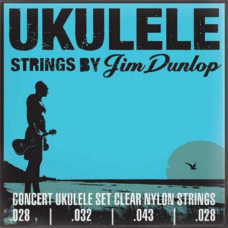 Dunlop DUY302 Ukulele Concert - Set Corzi Ukulele Dunlop - 1