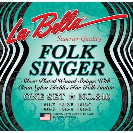 La Bella Folksinger Clear...