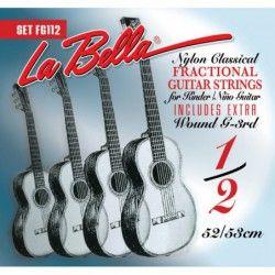 La Bella FG112 Classical Fractional Guitar - Set Corzi Chitara Clasica 1/2 La Bella - 1