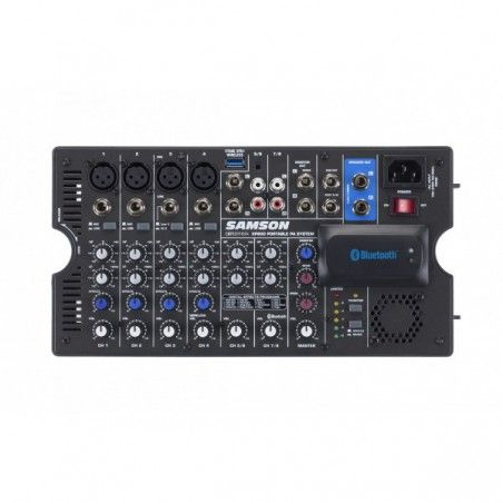 Samson XP800B - Pachet PA Portabil cu Bluetooth 2 x 200W Samson - 1