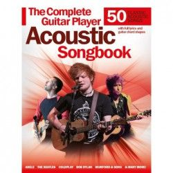 MSG The Complete Guitar Player: Acoustic Songbook - Manual chitara acustica MSG - 1