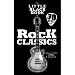 The Little Black Book Of Rock Classics - Manual chitara MSG - 1