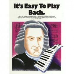 It's Easy To Play Bach - Manual pian MSG - 1
