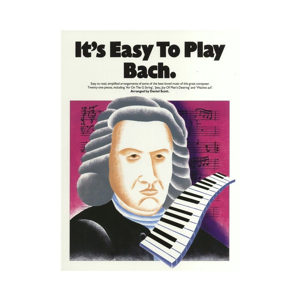 It's Easy To Play Bach -...
