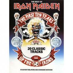 The Best Of Iron Maiden (TAB) - Manual chitara MSG - 1