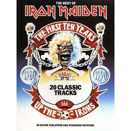 The Best Of Iron Maiden (TAB) - Manual chitara MSG - 1
