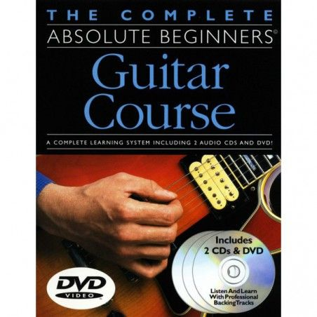 MSG The Complete Absolute Beginner Guitar Course Pack - Manual cu DVD MSG - 1