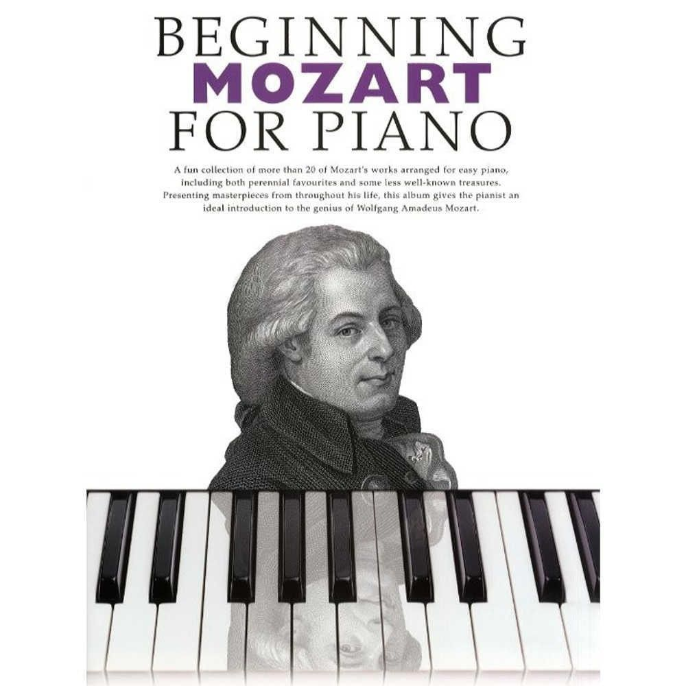 Beginning Mozart For Piano...