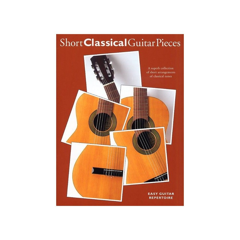Short Classical Guitar Pieces - Manual chitara clasica MSG - 1