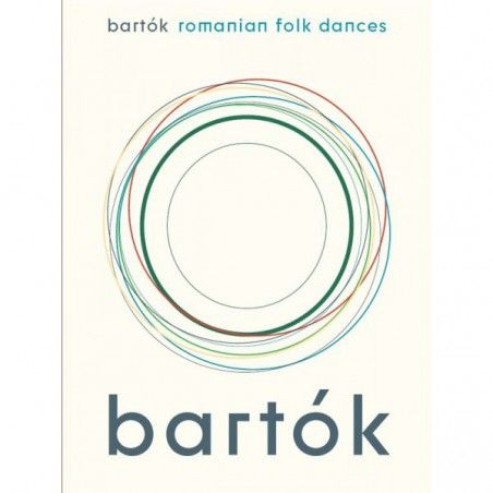 Bela Bartok: Romanian Folk Dances (Piano Solo) - Manual pian MSG - 1
