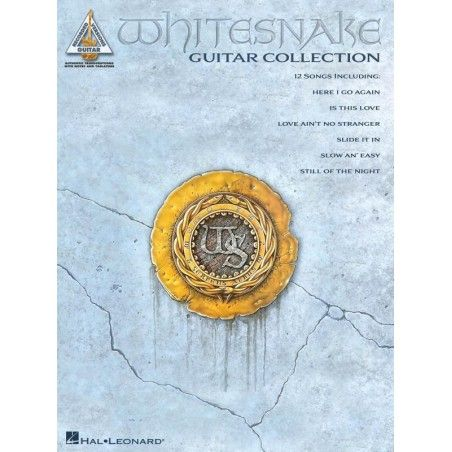 Whitesnake Guit. Col.: Guitar Rec. Versions - Manual chitara MSG - 1
