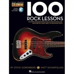 Bass Lesson Goldmine: 100 Rock Lessons - Manual bass MSG - 1