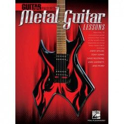 Guitar World Presents: Metal Guitar Lessons - Manual chitara MSG - 1