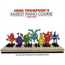 Thompson Easiest Piano Course: P1 - Rev Ed - Manual pian MSG - 1