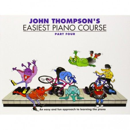 Thompson Easiest Piano Course: P4 - Rev Ed - Manual pian MSG - 1