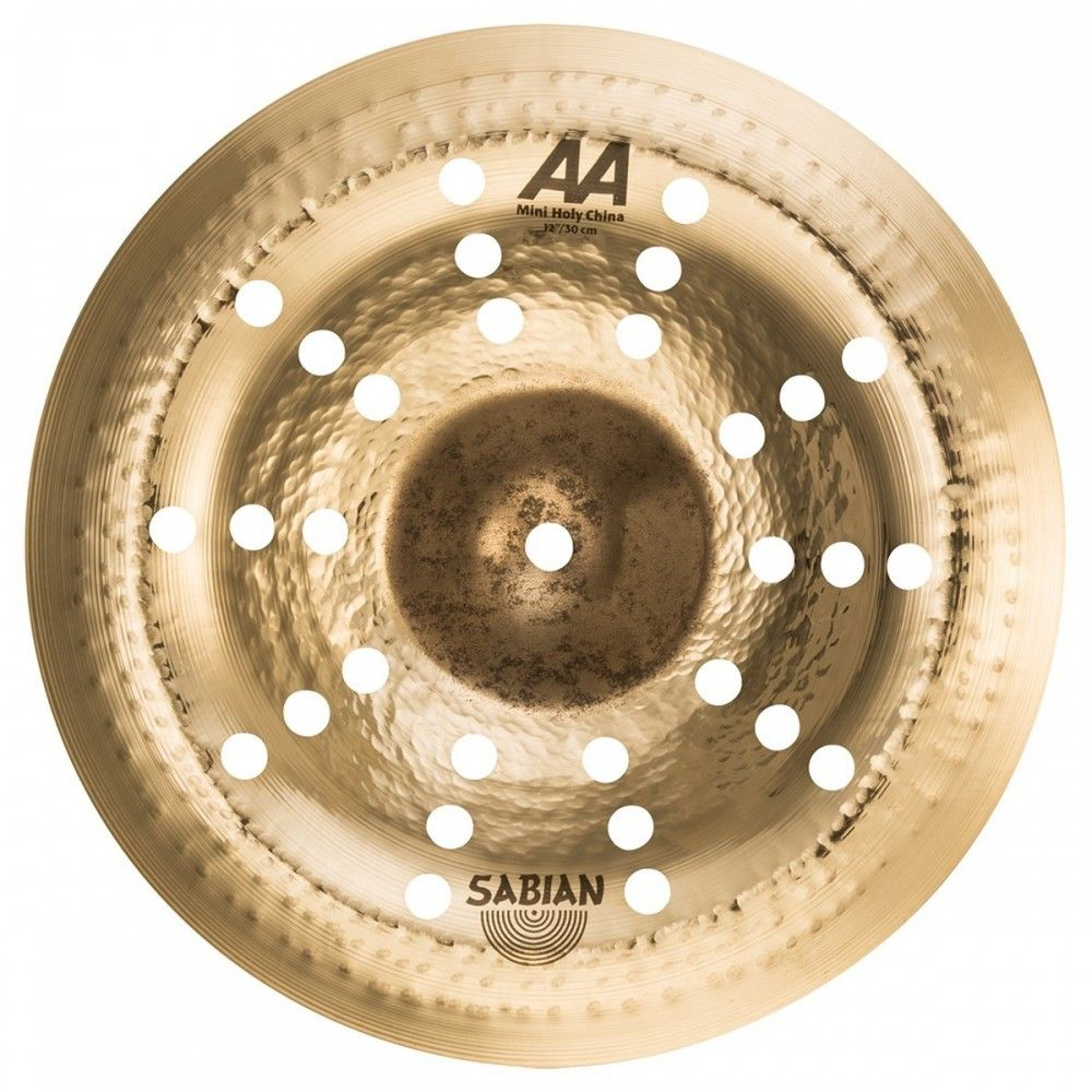 "Sabian 12"" AA Mini Holy China - Cinel Sabian - 1"