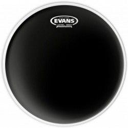"Evans Black Chrome Clear 12"" - Fata toba Evans - 1"