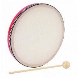 PP Drums Hand Drum Red - Toba Mana PP Drums - 1