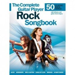 The Complete Guitar Player: Rock Songbook - Manual Chitara MSG - 1