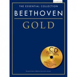 MSG Essential Collection Beethoven Gold - Manual Pian cu CD MSG - 1