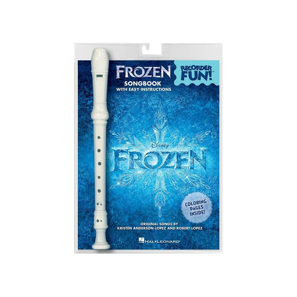 MSG Frozen Recorder PK - Manual cu Blockflote MSG - 1