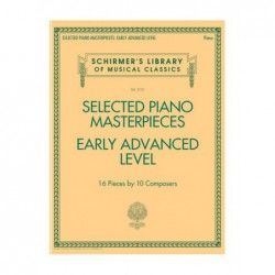 MSG Selected Piano Masterpieces - Manual Pian MSG - 1
