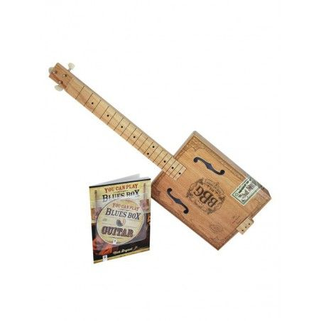 MSG Blues Box Guitar - Kit chitara slide MSG - 1