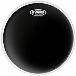 "Evans Black Chrome Clear 13"" - Fata toba Evans - 1"