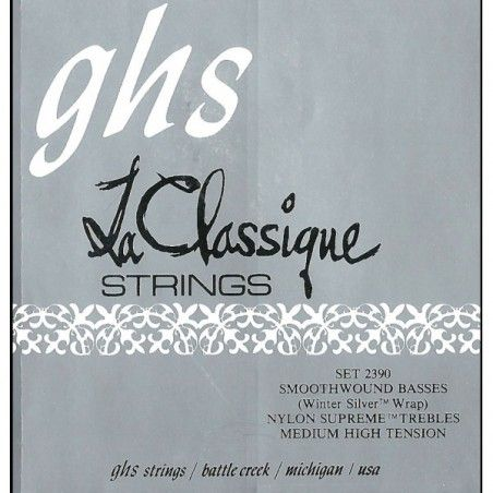GHS 2390 Medium Tension - Set Corzi Chitara Clasica GHS - 1