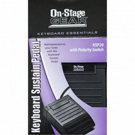 OnStage KSP20 - Pedala Sustain On-Stage Stands - 1