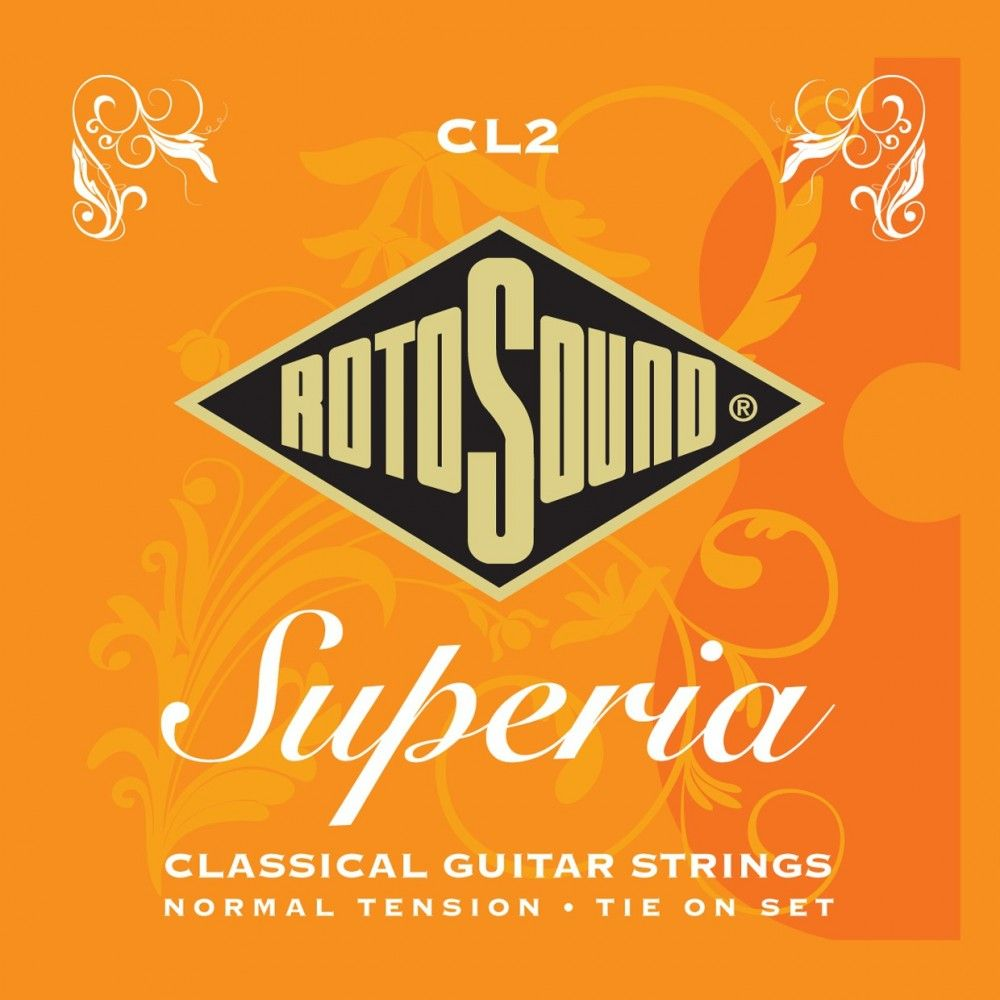 Rotosound Superia CL2 Medium Tension - Set Corzi Chitara Clasica Rotosound - 1
