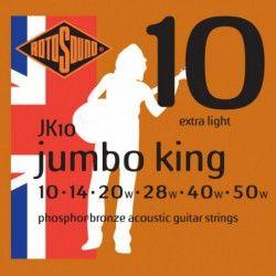 Rotosound Jumbo King - Set Corzi Chitara Acustica 10-50 Rotosound - 1